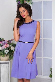 Платье фиалкового цвета Angela Ricci